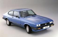 Ford Capri Bleu