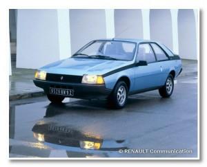 Renault Fuego bleu