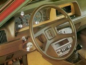 Intérieur Peugeot 604