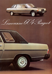 Peugeot 604 Limousine