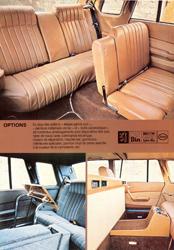 Peugeot 604 Limousine intérieur