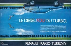 Pub Renault Fuego