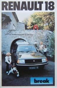 brochure R18 1980
