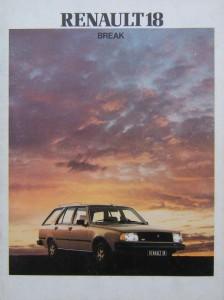 brochure R18 1982