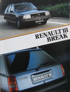 la renault 18 break entre break utilitaire et familiale voitures youngtimers. Black Bedroom Furniture Sets. Home Design Ideas
