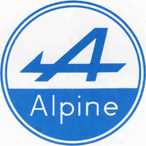 logo alpine youngtimer
