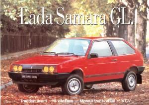 Publicité Lada Samrara 1988