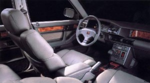 rover 827i sterling 1988