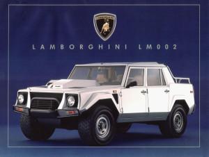 lamborghini LM002 brochure