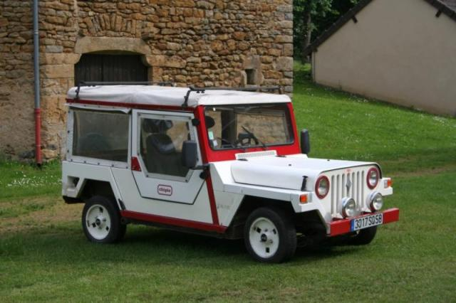 jeep sur base R4 en kit
