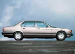 BMW 750i V12 1987