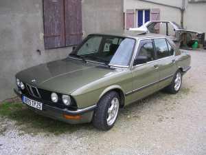 BMW e28 en 524td