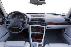 BMW 750 interieur