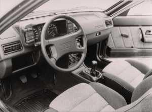 Intérieur Audi GT