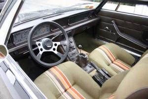 Fiat X1/9 Interieur