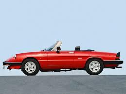 Alfa Romeo Spider des années 80