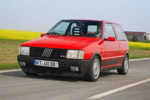 Fiat Uno Turbo i.e vue avant