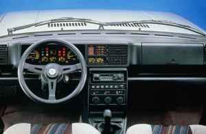 Intérieur Lancia Delta