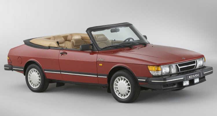 Saab 900 cabriolet années 80