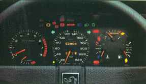 tableau de bord 505 V6