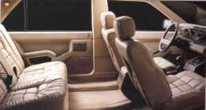 Intérieur R25 Limousine