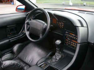 Intérieur Chevrolet Corvette C4