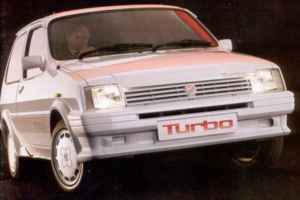 Austin MG Metro Turbo youngtimer