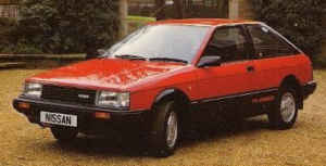Nissan Cherry Turbo youngtimer GTI