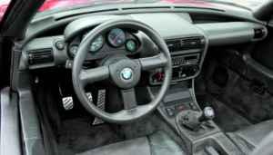 Tableau de bord du BMW Z1