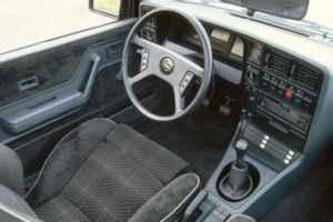 Intérieur Opel Monza