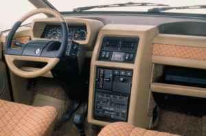 Intérieur Renault Espace 1984