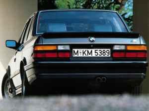 BMW M 535i e28 arrière