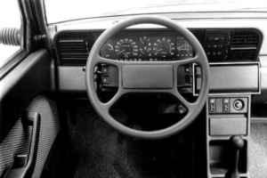 Intérieur de la Fiat Regata 100S