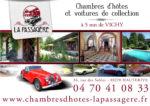 La Passagère, Maison d'hôtes et voitures de collection
