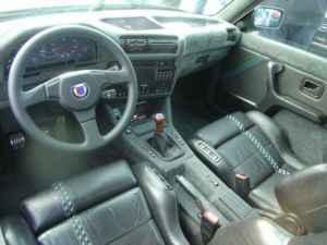 Intérieur Alpina B6 3.5 S