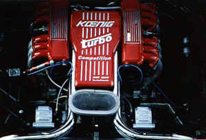 moteur koenig testarossa