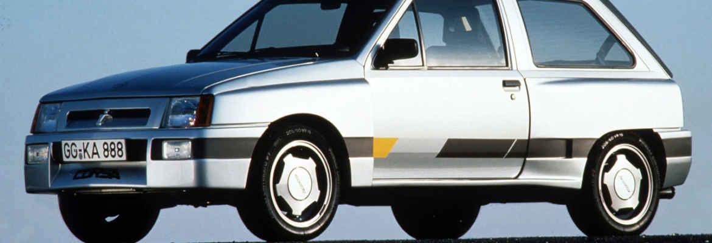 Opel Corsa Irmscher Sprint 1985