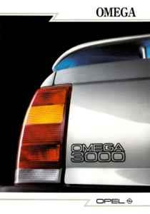 Brochure Opel Omega 3000 Sport