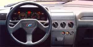 Intérieur Peugeot 205 Rallye