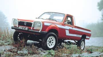 Peugeot 504 Dangel Pick-up