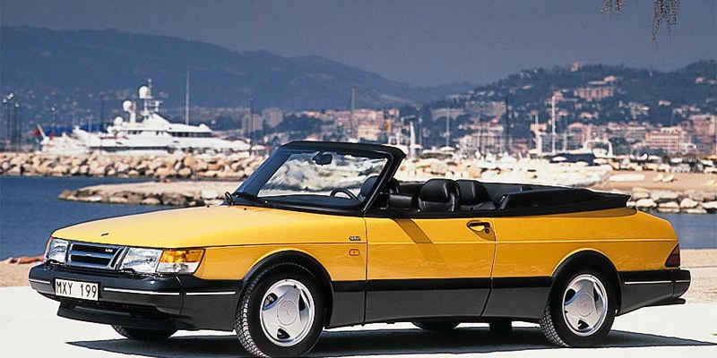 Saab cabriolet youngtimer