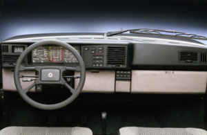 Intérieur Lancia Y10 Turbo