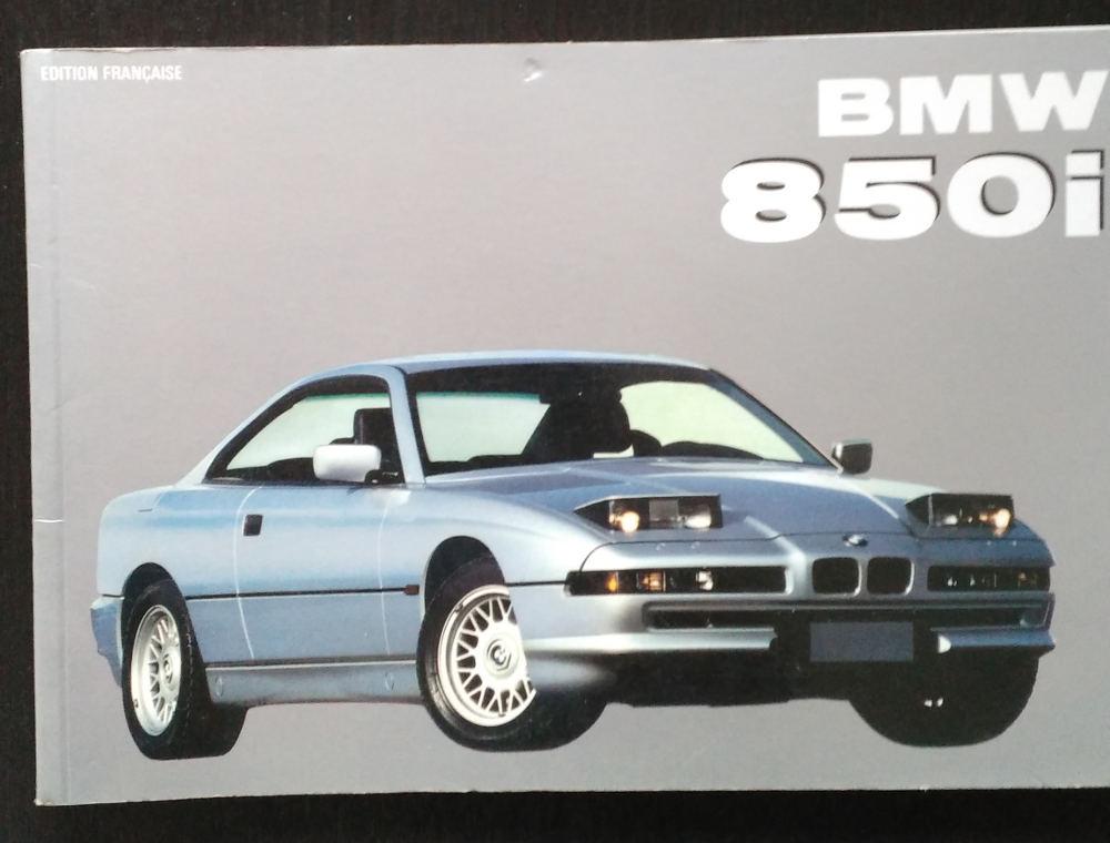 Livre sur la BMW 850i