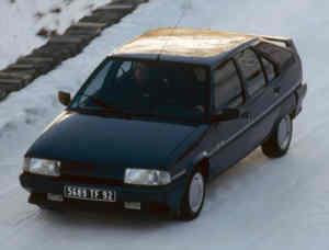 Citroën BX GTI 4x4