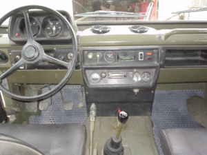 Intérieur de la Peugeot P4