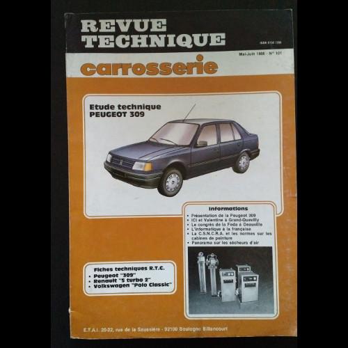Revue Technique Carrosserie Peugeot 309
