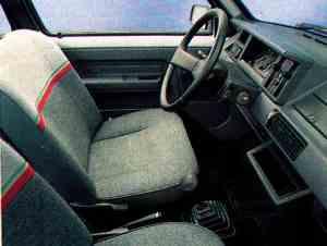 Intérieur Renault 5 Five