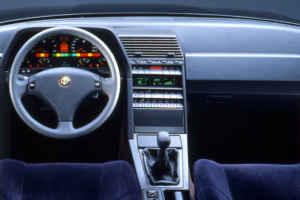 Intérieur de l'Alfa 164