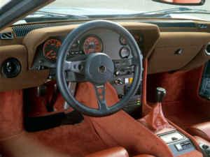 Intérieur de l'Alpine A 310 V6