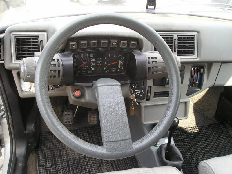 Intérieur Citroën Axel